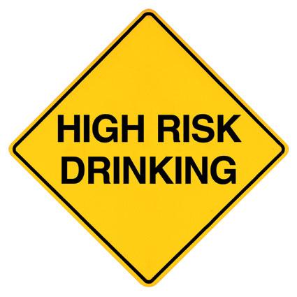 Define High Risk Drinking